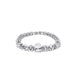 Cubic zirconia crystals bracelet