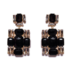 Earrings with cross detail