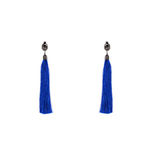 Elegant earrings with tassels