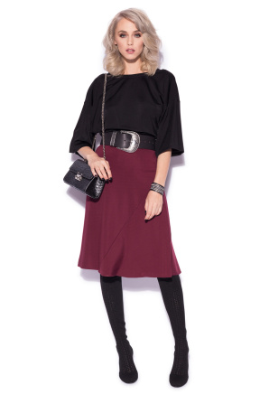 Bordo clos skirt