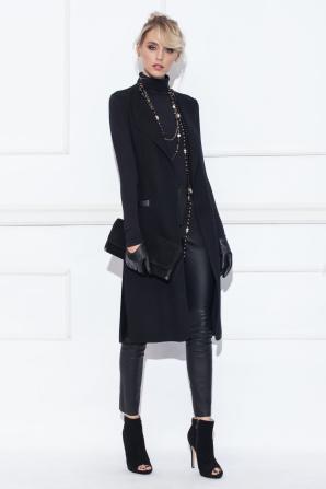 Black elegant vest