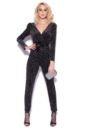 Jumpsuit with sparkling details