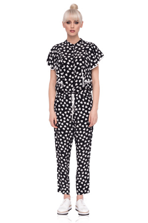 CASUAL TROUSERS WITH PRINT