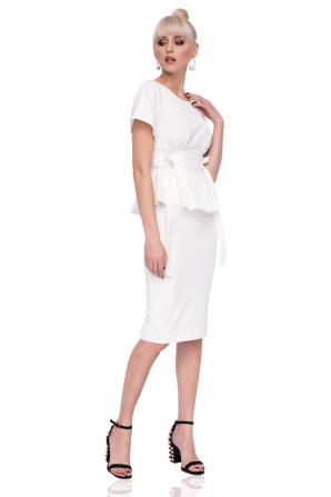 Elegant midi pencil dress