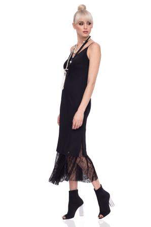 Luce satin dress