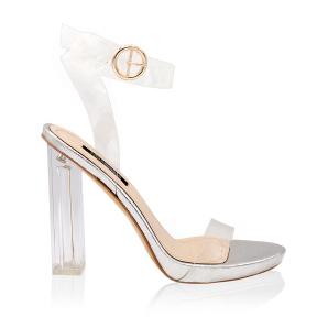 Sandale cu transparente