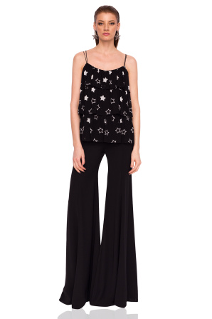Loose top with star print