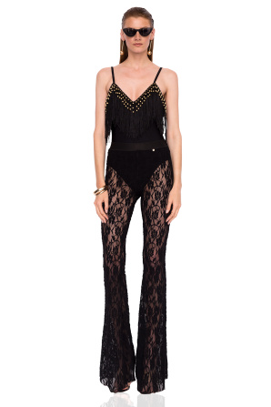 Lace beach trousers