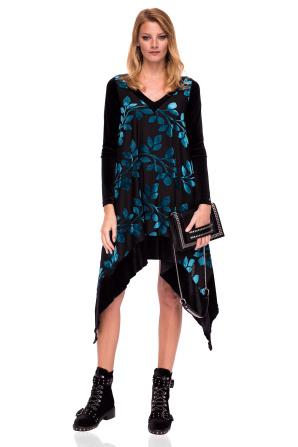 Asymmetrical  elegant dress
