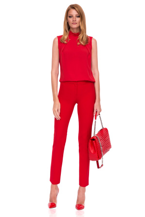 Slim casual trousers