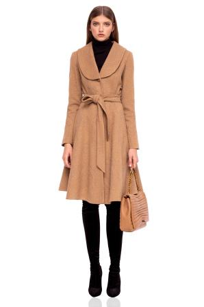 Palton clasic cu revere