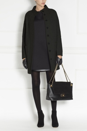 Chic straight frock-coat