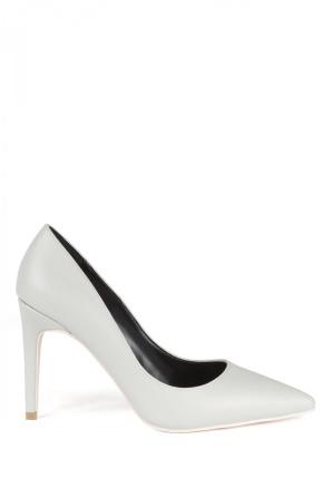 Gray stilettos