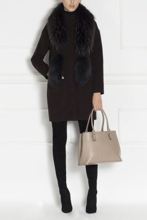 Straight chic frock-coat