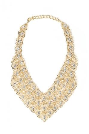 Elegant oversized necklace