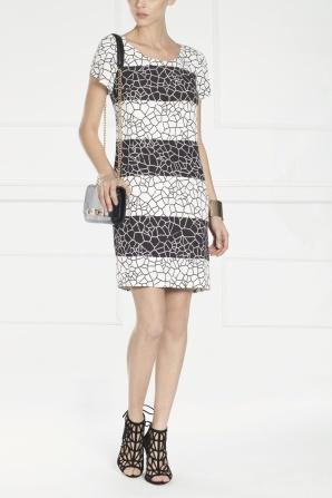 Short sleeved day dress