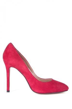 Pantofi stiletto piele naturala