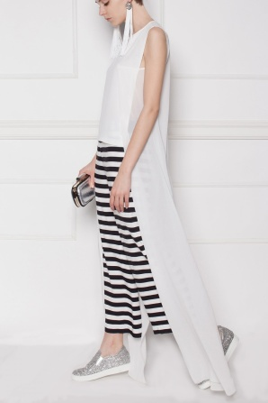 Graphic printed Culottes