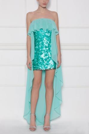 Sequined evening dress