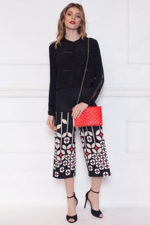 Culottes printed pants