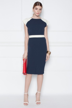 Day Dress with contrasting details
