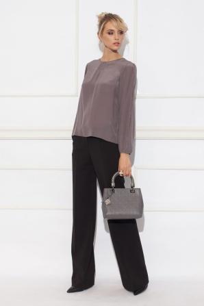 Silk grey shirt