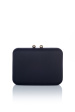 Fabric black box clutch