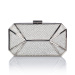 Structured clutch with crystals