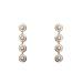 Cercei eleganti cu detalii tip perle
