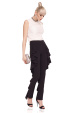 Elegant trousers with ruffles