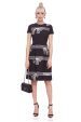 Printed clos dress