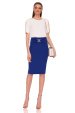 Pencil skirt with waist detail