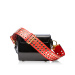 Shoulder bag with studded sling