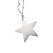 Necklace with silver stars