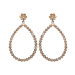 Maxi gold earrings