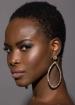Maxi gold earrings