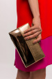 Clutch with contrasting details