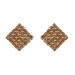 Cercei geometrici cu cristale