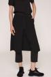 Pantaloni cu fusta suprapusa