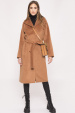 Palton cu buzunare si cordon