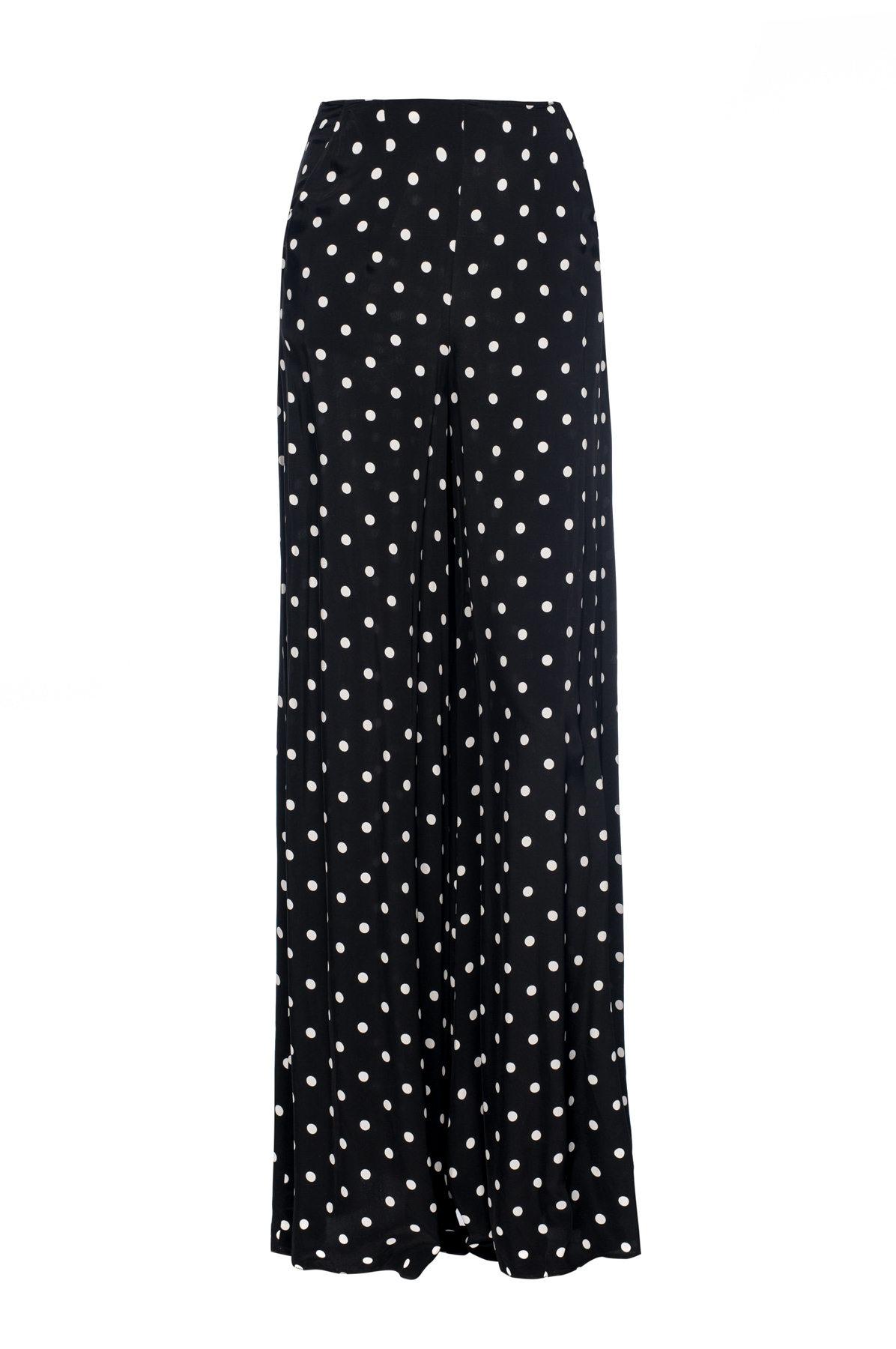 4e6b8d79a2 Polka dots wide leg trousers   p8651   NISSA
