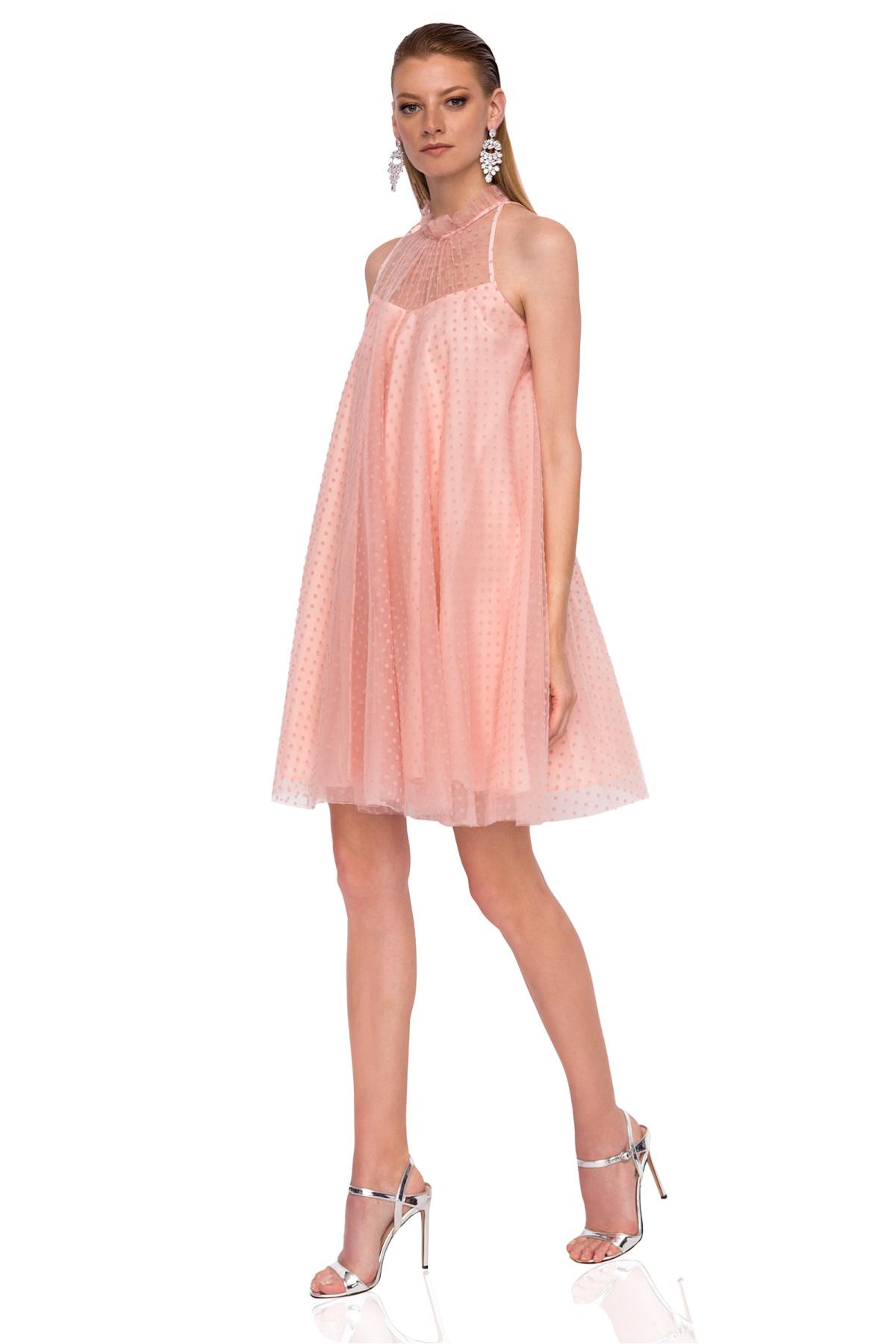87f47feabff9 Loose tulle mini dress   RS9362   NISSA