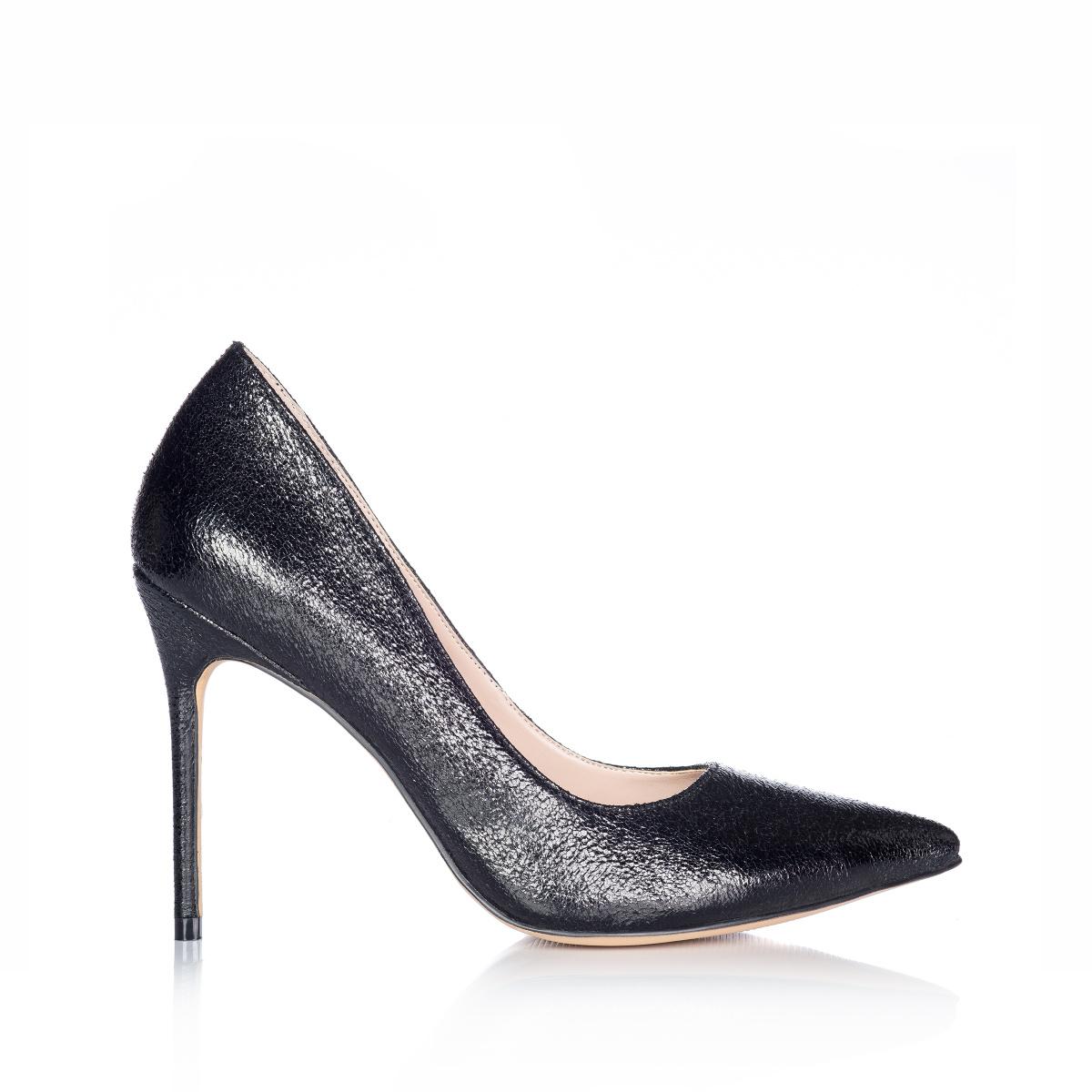 pret ieftin textură bună poze noi Pantofi stiletto din piele ecologica | expa1521 | NISSA